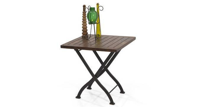 Masai Patio Table (Teak Finish) by Urban Ladder