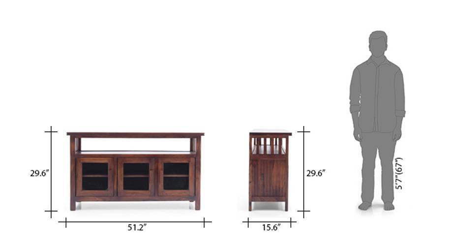 Rhodes 3 door sideboard teak 10 11