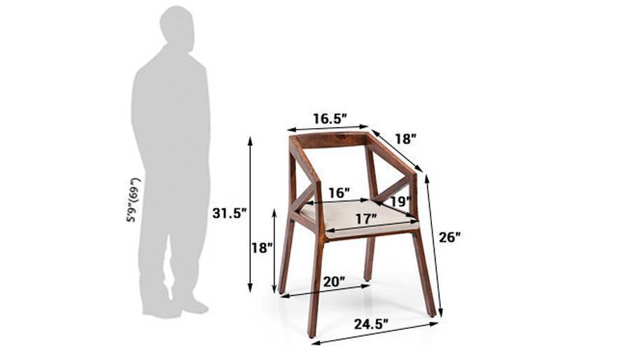 Howe study chair teak 08 ubn ses 30 d1 0293