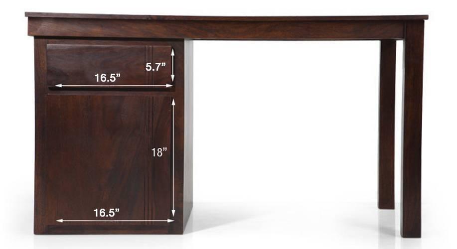 Bradbury desk mahogany