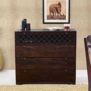 Alaca Chest of Drawers (Mahogany Finish) by Urban Ladder