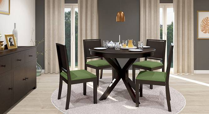 Liana Oribi 4 Seater Round Dining Table Set Urban Ladder