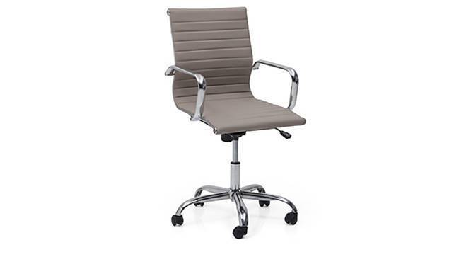 Charles Study Chair - 2 Axis Adjustable (Grey) by Urban Ladder