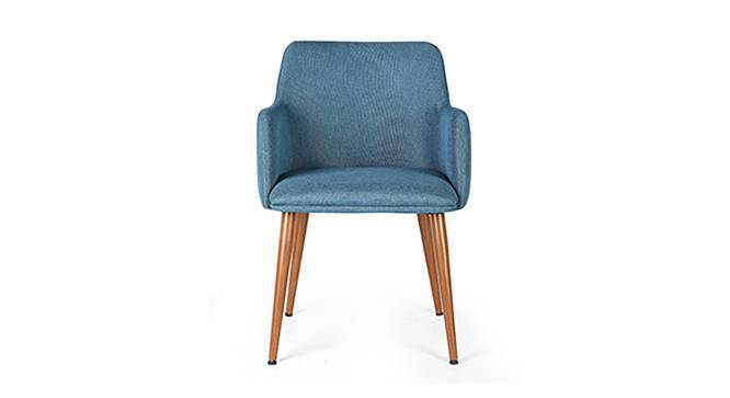 Murray Lounge Chair (Teal) by Urban Ladder