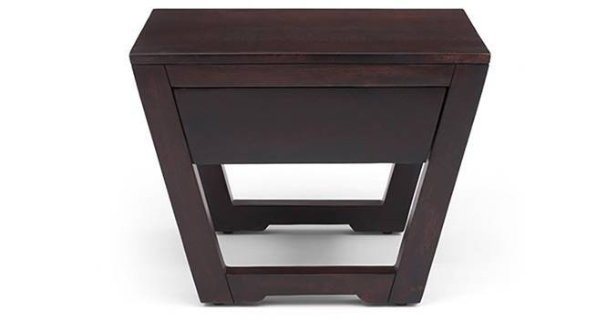 Caprica Bedside Table (Mahogany Finish) by Urban Ladder