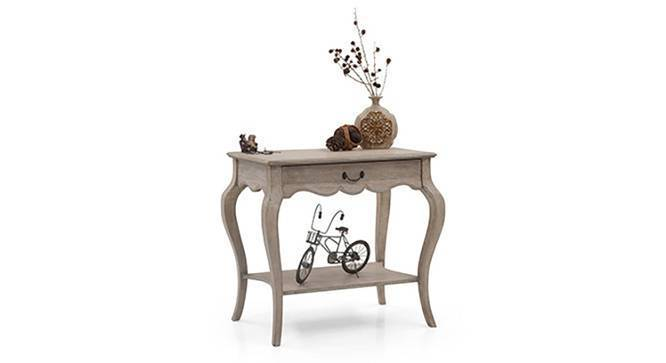 Lyon Console (Natural - Distressed Finish) by Urban Ladder