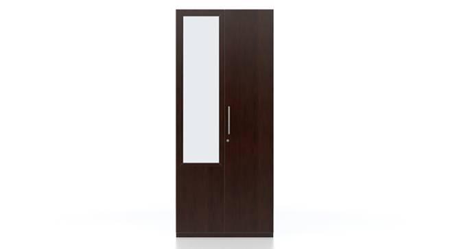 Domenico XL Wardrobe (Two Door, With Mirror Configuration) by Urban Ladder