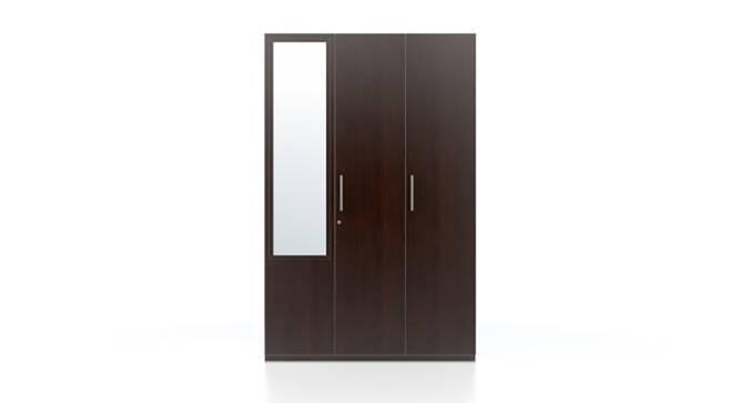Domenico XL Wardrobe (Three Door, With Mirror Configuration) by Urban Ladder