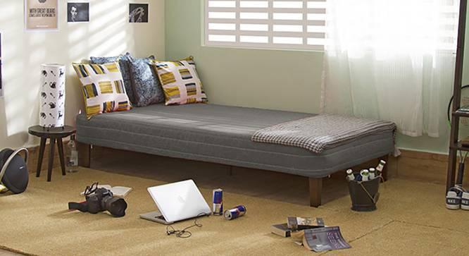 Mou Bed With Mattress (Dark Grey) by Urban Ladder