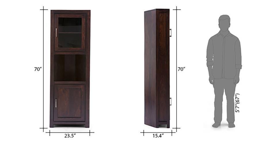 Murano two door corner cabinet 08