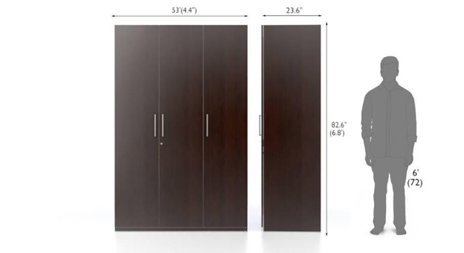 Domenico xl 3 door wardrobe do 08 9