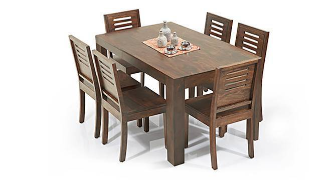 Arabia Capra 6 Seater Dining Table Set Urban Ladder
