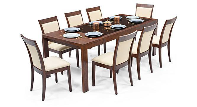 Ven 6 To 8 Extendable Dalla Seater Gl Top Dining Table Set