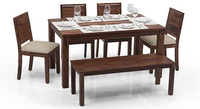 Arabia Oribi 6 Seater Dining Table Set With Bench