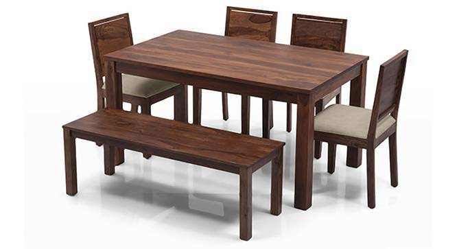Arabia Oribi 6 Seater Dining Table Set With Bench Urban Ladder