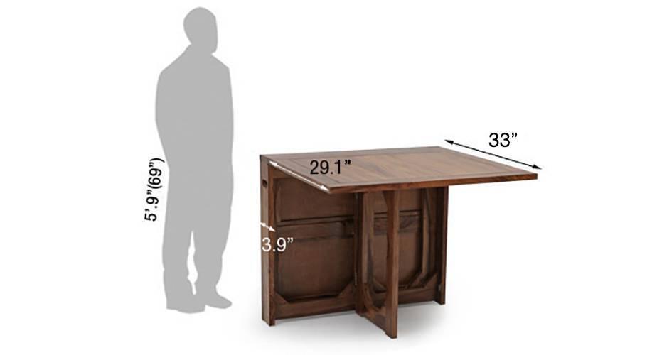 Danton folding dining table teak1