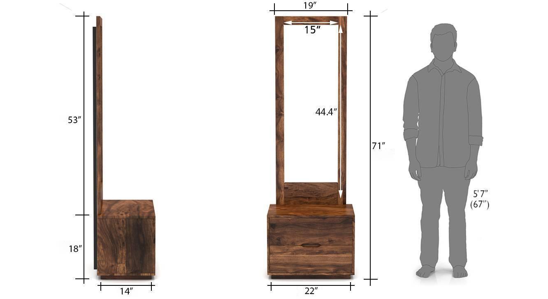 Zephyr dresser with mirror tk 52