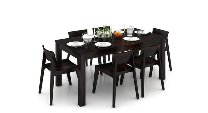 Arabia XL Storage - Gordon 6 Seater Dining Table Set (Mahogany Finish) by Urban Ladder