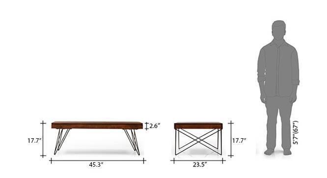 Dyson coffee table walnut 9