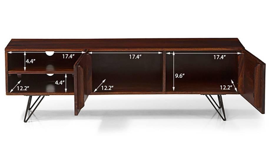 Dyson coffee table tv unit set walnut 13 14