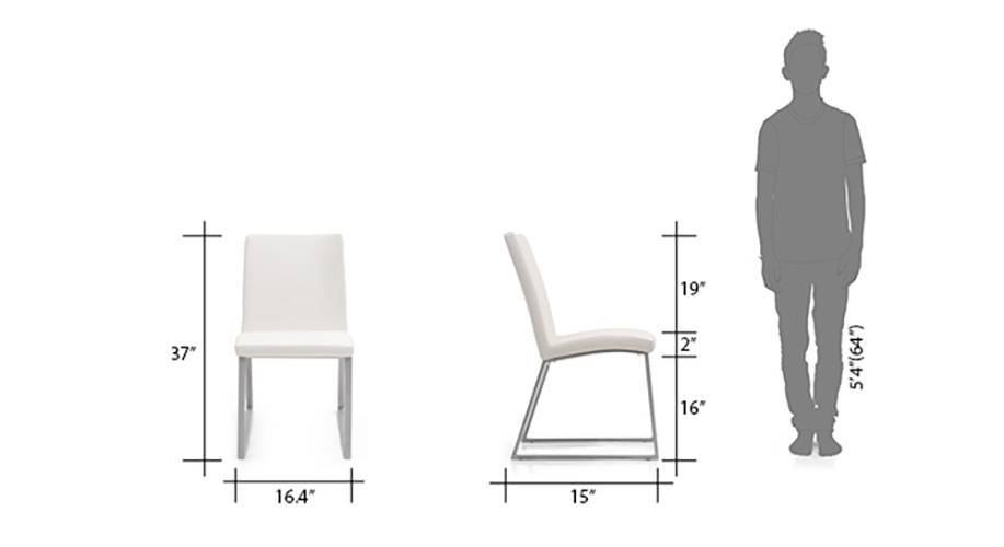 Delphine dinning chair white 10