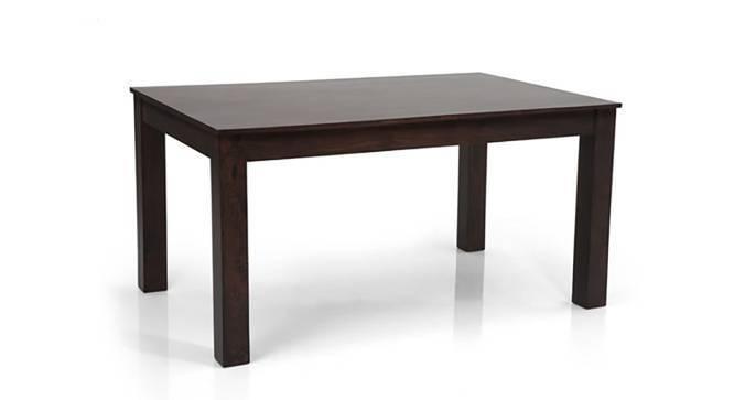Arabia - Oribi 6 Seater Dining Table Set (Mahogany Finish, Avocado Green) by Urban Ladder