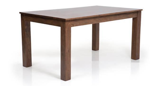 Arabia - Oribi 6 Seater Dining Table Set (Teak Finish, Avocado Green) by Urban Ladder