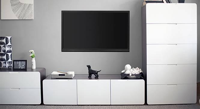 """Bergen 47"""" TV Cabinet (Dark Walnut Finish) by Urban Ladder"""