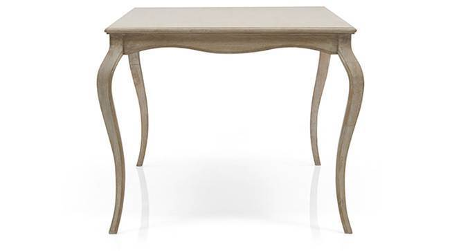 Lyon 6 Seater Dining Table (Natural - Distressed Finish) by Urban Ladder