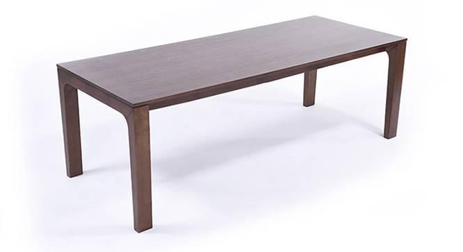 Arco 8 Seater Dining Table (Dark Walnut Finish) by Urban Ladder