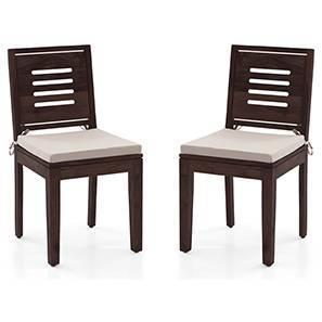 Capra puco chair set mahogany wheat brown 00 lp