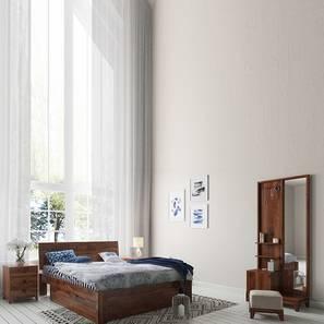 Valencia - Magellan Storage Compact Bedroom Set (Teak Finish) by Urban Ladder