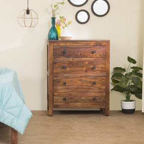 Walter Chest of Drawers (Teak Finish) by Urban Ladder