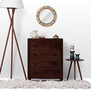 Walter Chest of Drawers (Mahogany Finish) by Urban Ladder