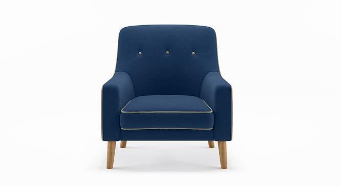 Hagen Lounge Chair (Cobalt) by Urban Ladder