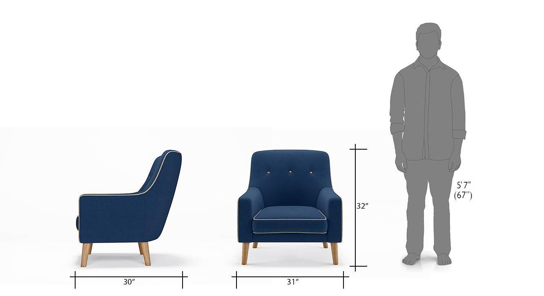 Hagen lounge chair cobalt 07