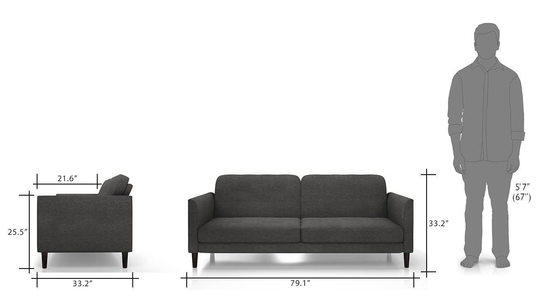 Felicity sofa cum bed grey 10
