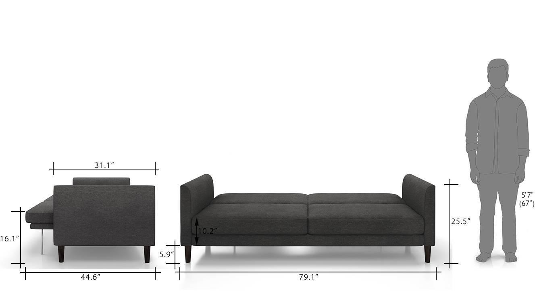Felicity sofa cum bed grey 11