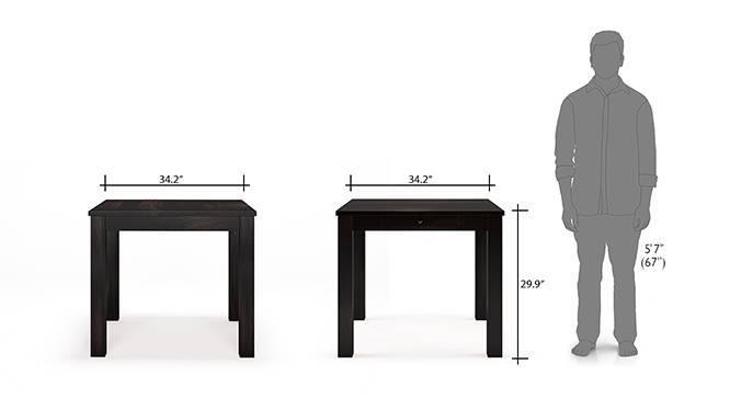 Arabia capra 4 seater storage dining table set mh 12