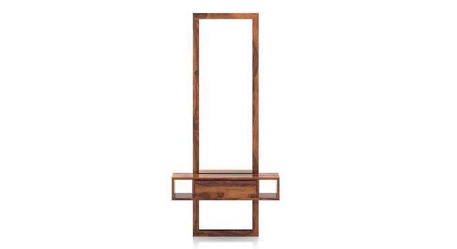 Ohio Mirror (Teak Finish) by Urban Ladder