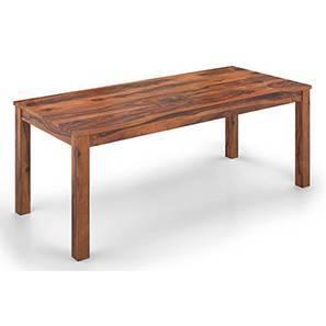 Arabia XXL 8 Seater Dining Table (Teak Finish) by Urban Ladder