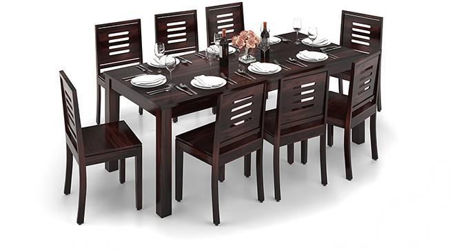 Arabia XXL - Capra 8 Seater Dining Table Set (Mahogany Finish) by Urban Ladder