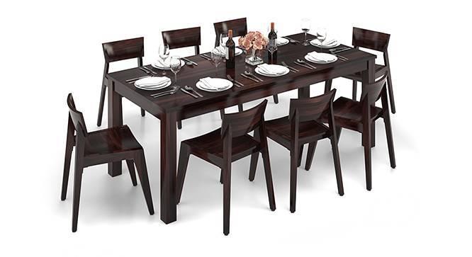 Arabia XXL - Gordon 8 Seater Dining Table Set (Mahogany Finish) by Urban Ladder
