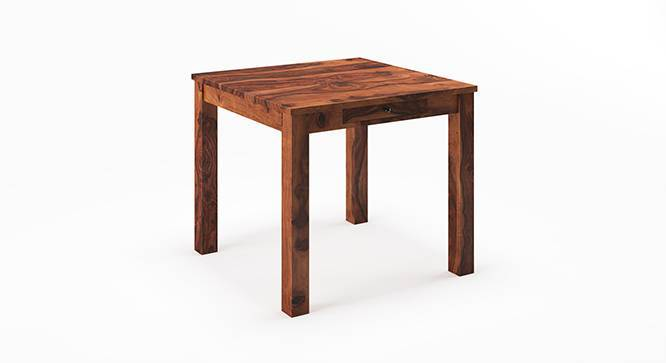 Arabia 4 Seater Dining Table (With Storage) (Teak Finish) by Urban Ladder