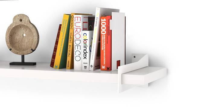 Ryter Shelves - Set Of 2 (White, 3.5' Shelf Width) by Urban Ladder