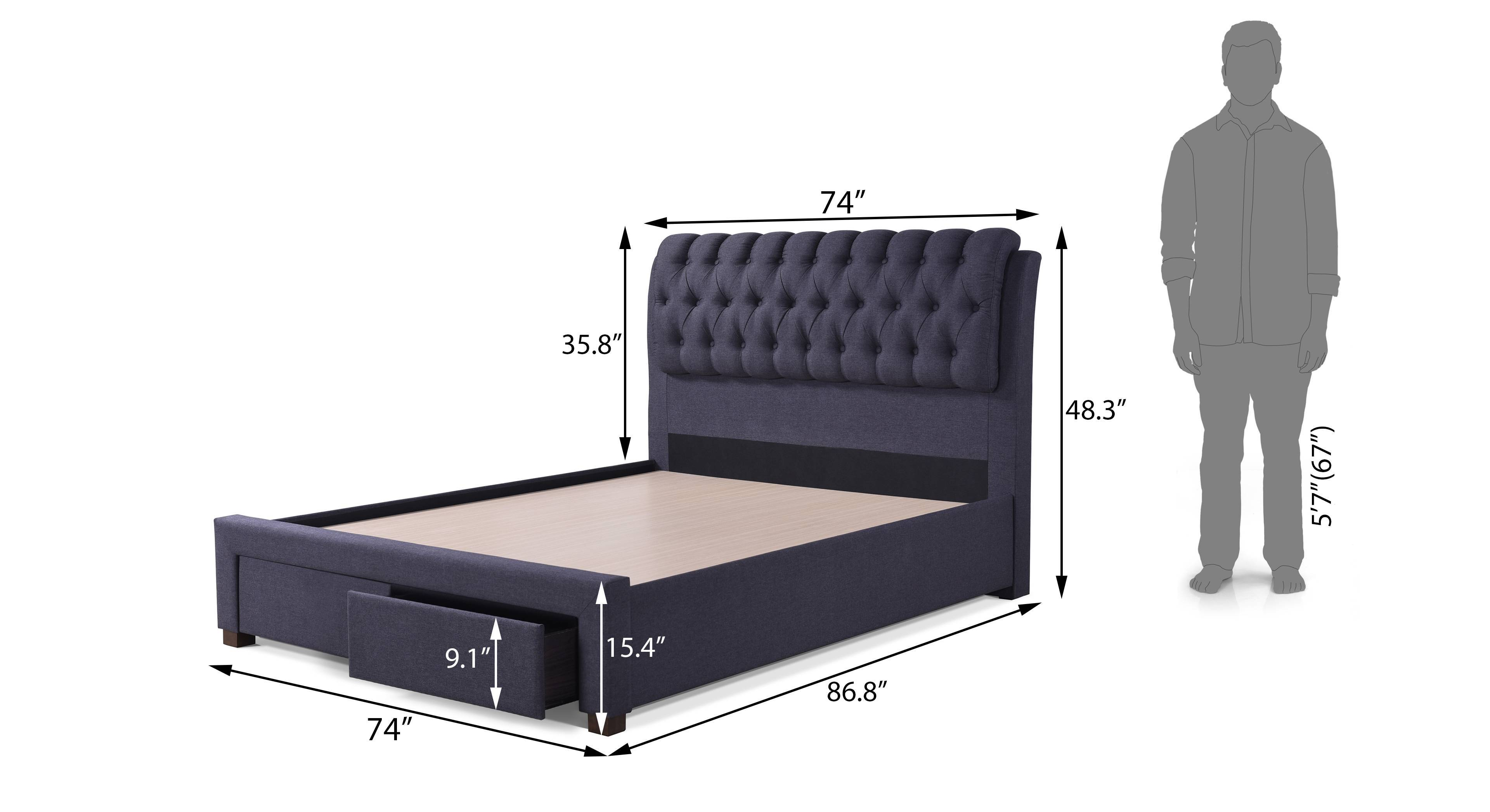 Cassiope upholstered storage bed king 09