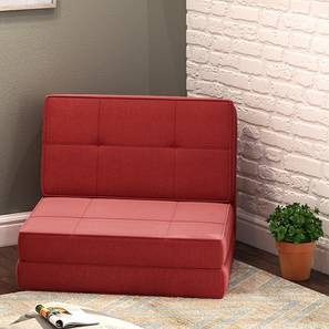 Desso Futon Sofa Bed Rust Red One Seater Configuration By Urban Ladder