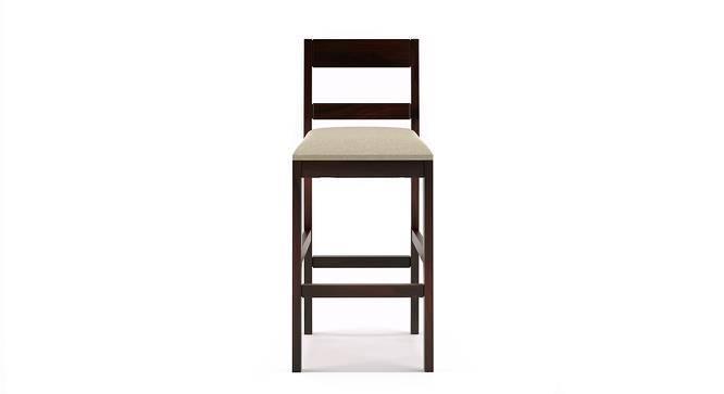 Stinson Bar Stool (Mahogany Finish, Counter Height) by Urban Ladder