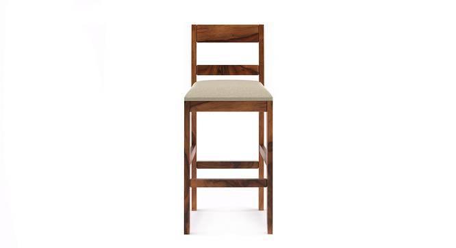 Stinson Bar Stool (Teak Finish, Counter Height) by Urban Ladder