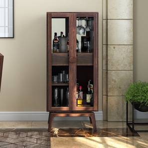 Boisdale Bar Cabinet Walnut Finish By Urban Ladder